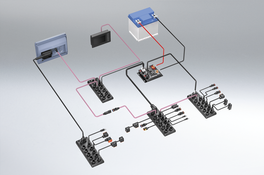 xtremeDB topology installatie